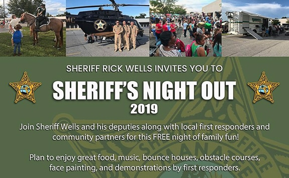 Manatee County Sheriff's Night Out 2019 in Bradenton, FL