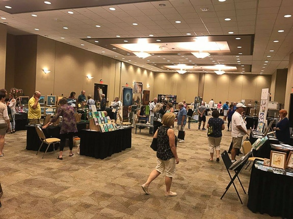 East2West Art Market in Palmetto, FL at the Bradenton Area Convention Center