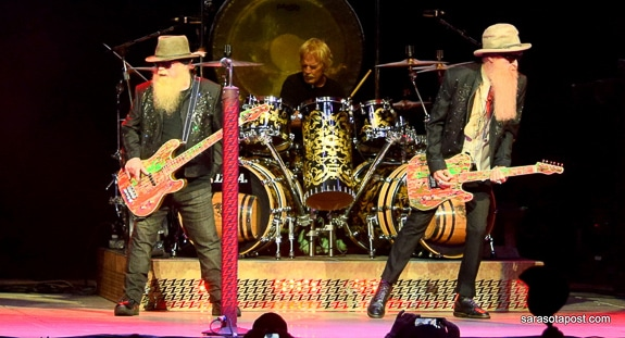 ZZ Top 50th Anniversary Tour Celebrates in Tampa at Mid-Florida Amphitheater