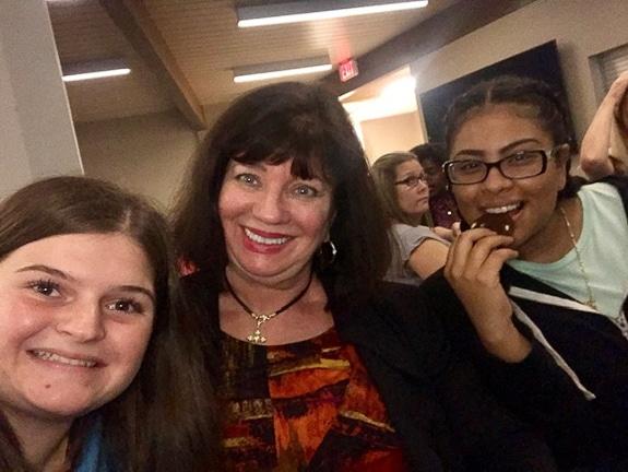 Emma Bittar, Mary Ann Legler, and Perla Borja-Morales.