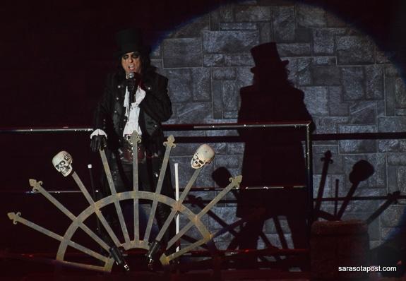 Ol' Black Eyes is Back! Alice Cooper Brings His Nightmare to Clearwater's Ruth Eckerd Hall