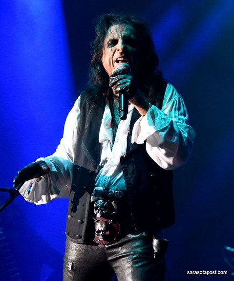 Alice Cooper at his tour at Ruth Eckerd Hall in Clearwater, FL