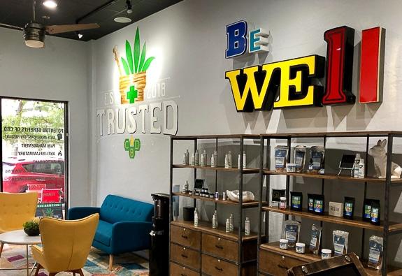 Business Highlight, TrustedCBD in Sarasota, Florida