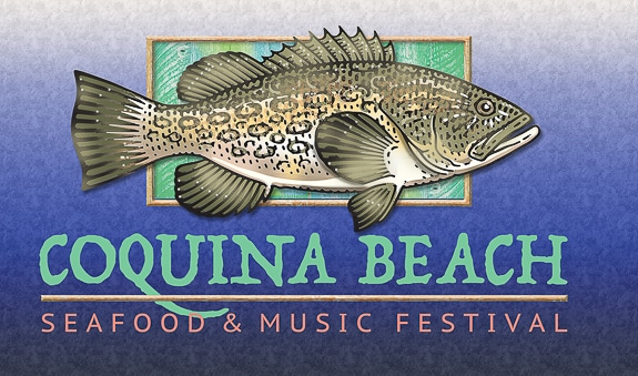 The Coquina Beach Seafood & Music Festival, December 13-15, 2019,  on Bradenton Beach