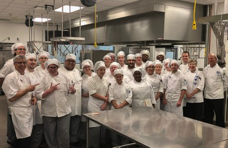 Chef Paul Mattison Cooks with Manatee Technical College Culinary Program Students