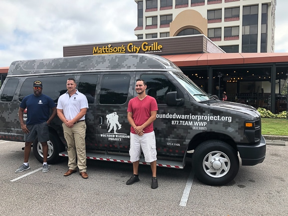 Mattison's Round Up for Charity recipient is The Wounded Warrior Project.