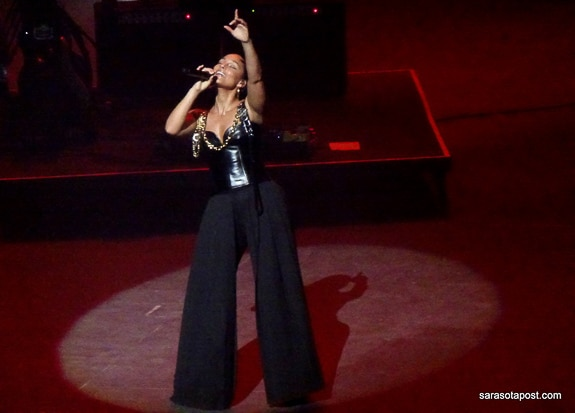 Alicia Keys at the New Hard Rock Live in Hollywood, FL