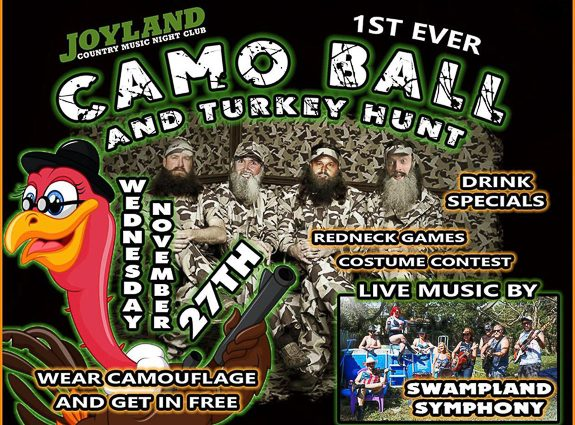 Joyland Country Music Night Club in Bradenton is Throwing a Thanksgiving Eve Party