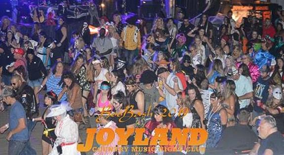 Joyland's Boo Bash Halloween party 2019