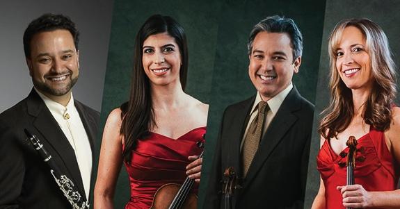 The Sarasota Orchestra performs at The Van Wezel in Sarasota, FL
