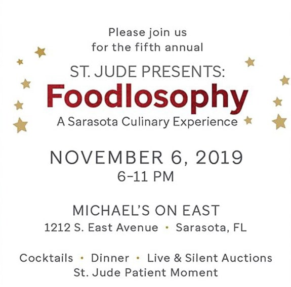 St. Jude Presents: Foodlosophy, a Sarasota Culinary Experience