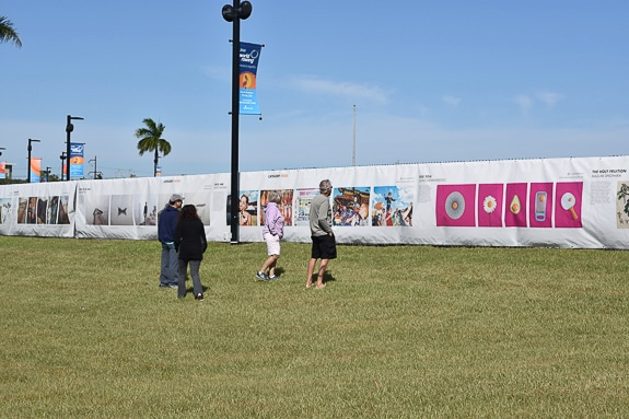 The Fence will be displayed at Benderson Park in Sarasota, FL