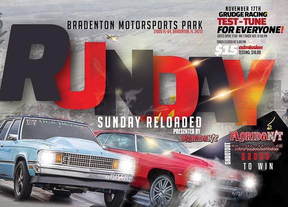 Runday Sunday Reloaded at Bradenton Motorsports Park in Bradenton, FL