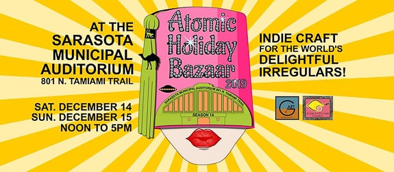Atomic Holiday Bazaar in Sarasota, FL