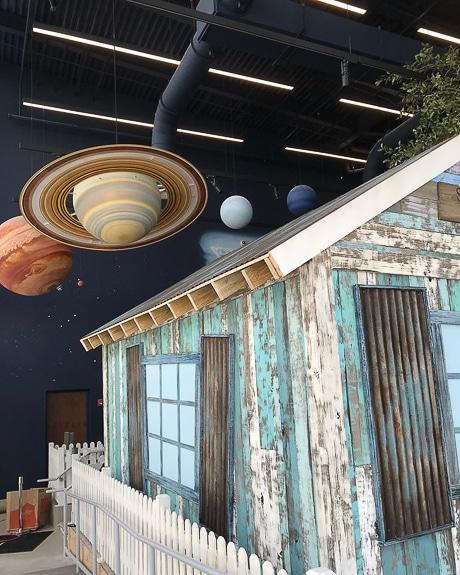 The Mosaic Backyard Universe at The Bishop Museum in Bradenton, FL