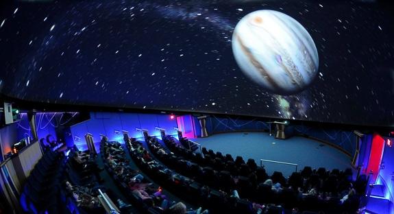 The Planetarium at the Bishop Museum in Bradenton, FL