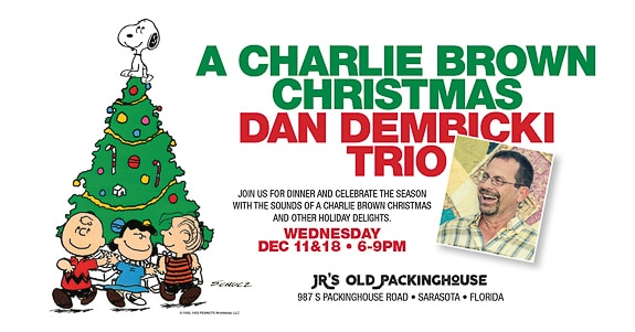 Dan Dembicki Trio, in Sarasota, presents the Charlie Brown Christmas Special Music Show