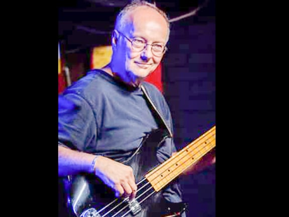 Bart Dellarmi plays bass with Dan Dembicki Trio in Sarasota, FL