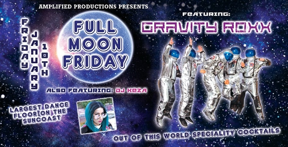 The First Annual Full Moon Friday Dance Party at Joyland in Bradenton, FL