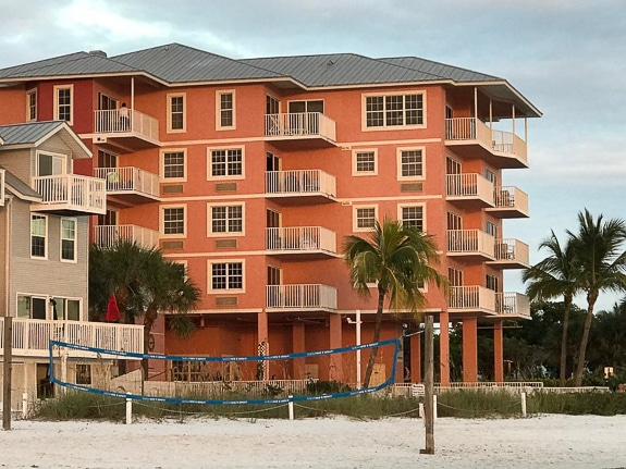 The Edison Beach House faces out onto the Gulf