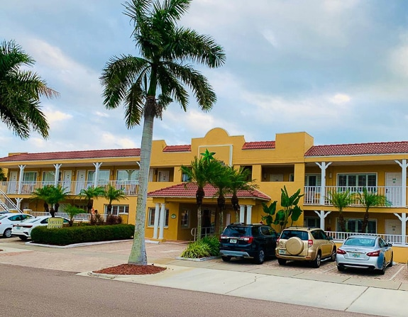 The Inn at the Beach Venice is quintessential old Florida