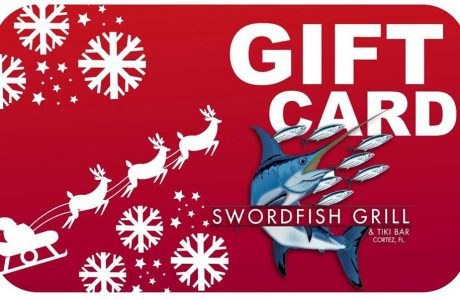 Last Minute Gift Idea from the Swordfish Grill & Tiki in Cortez, Florida