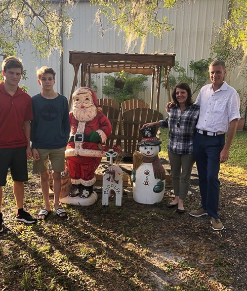 Merry Christmas from the author and her family!