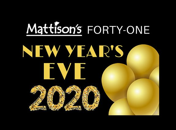 New Year's Eve Celebration at Mattison's Forty-One in Sarasota
