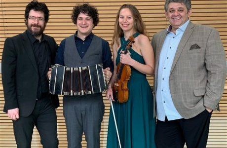 Live Tango Ensemble at Fogartyville in Sarasota on January 5
