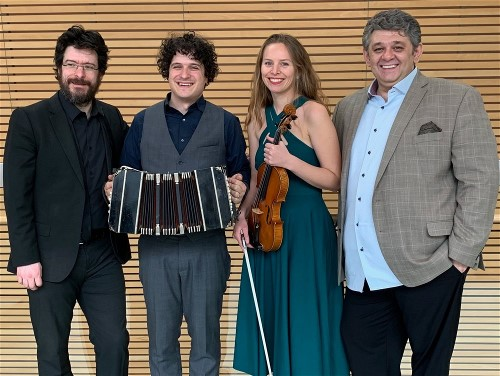 Live Tango Ensemble at Fogartyville in Sarasota on January 5