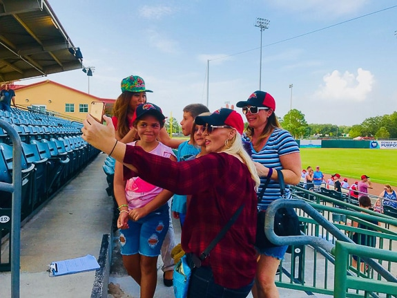Attending one of Florida's many minor league ballgames can be major fun for young and old alike
