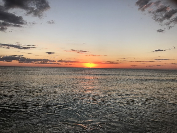 There's nothing like standing on the beach at Sanibel and watching the sun set.