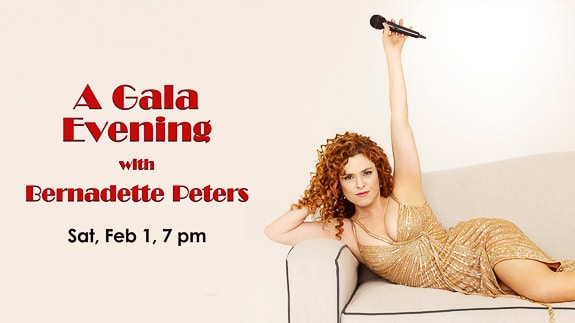 A Gala Evening with Bernadette Peters in Sait Petersburg, FL