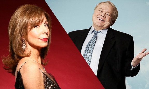 Louie Anderson and Rita Rudner at the Van Wezel in Sarasota, FL