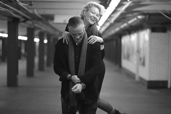 Ari  McManus and Nicolaas Kraster in New York