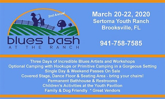 2nd Annual Blues Bash at Sertoma Youth Ranch in Brooksville, FL