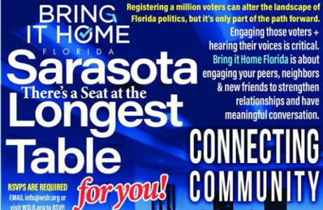 Bring It Home Sarasota Florida's The Longest Table: Connecting Community