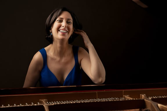 Renana Gutman is a pianist playing with the Chopin Project on Florida's Suncoast