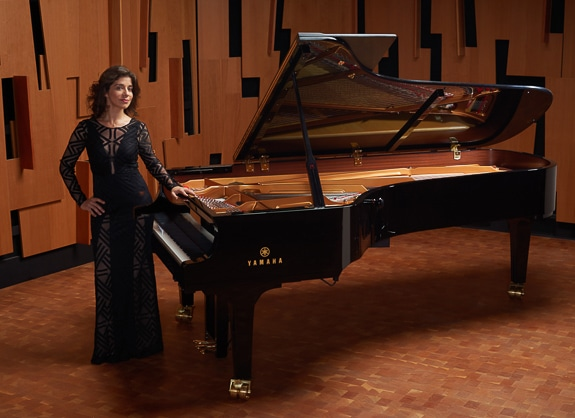 Pianist Inna Faliks performs for the Chopin Project on Florida's Suncoast