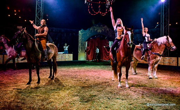 The Circus is in Town – Cirque Ma'Ceo Brings Equestrian Magic to Sarasota