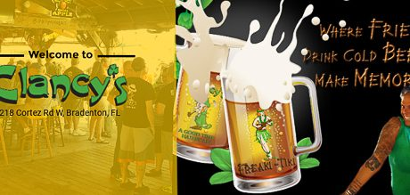 Clancy's Irish Sports Pub of Bradenton Going Big-Time with a New Website!