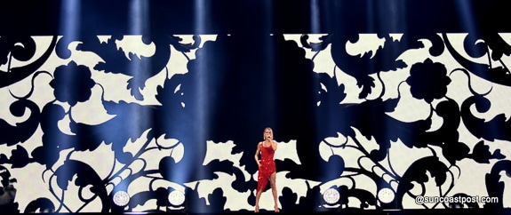 "Celine Dion Brings Her ""Courage World Tour"" to Tampa's Amalie Arena"