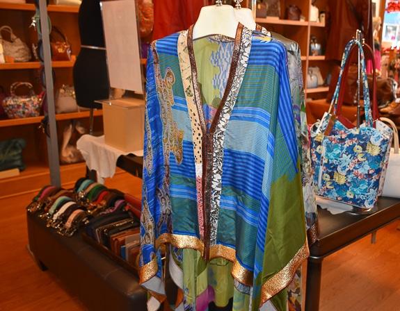 Beautiful clothing at Eleganza in Downtown Sarasota, FL
