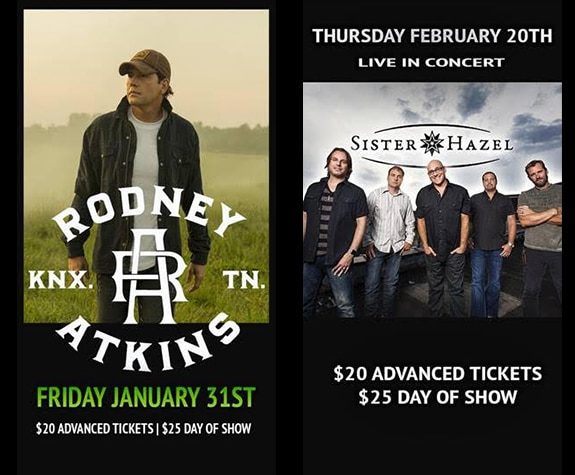 Two great concerts coming to Joyland Country Music Night Club in Bradenton