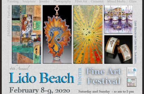 4th Annual Winter Fine Art Festival on Lido Key, FL