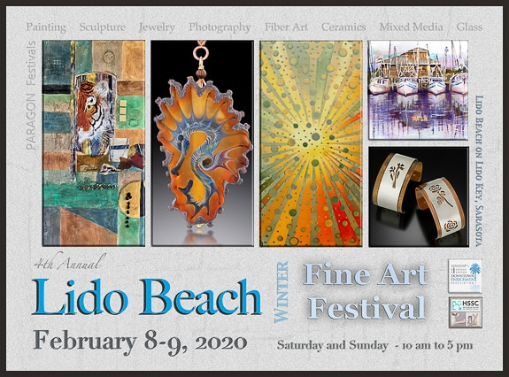 4th Annual Winter Fine Art Festival on Lido Key, FL