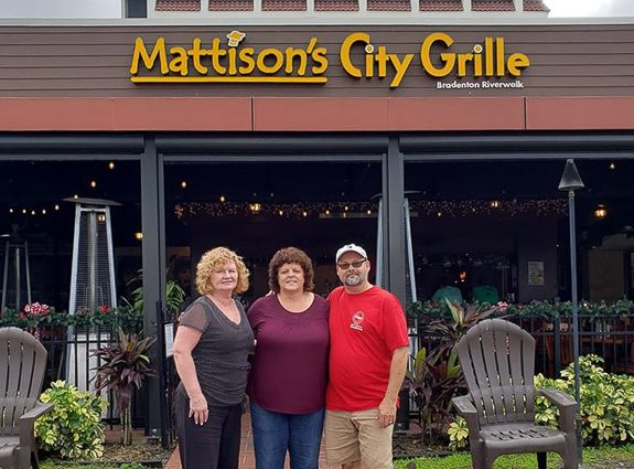 "Mattison's Riverwalk Grille ""Round Up For Charity"" in Bradenton"