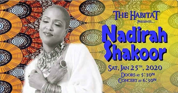 Get Your Ticket for Nadirah Shakoor at the Bradenton Woman's Club