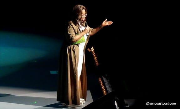 "Oprah Kicks Off ""Vision 2020"" Tour with Lady Gaga in Ft. Lauderdale"