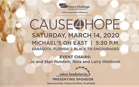 Neuro Challenge Foundation Hosts 2020 'Cause 4 Hope' Gala in Sarasota, FL